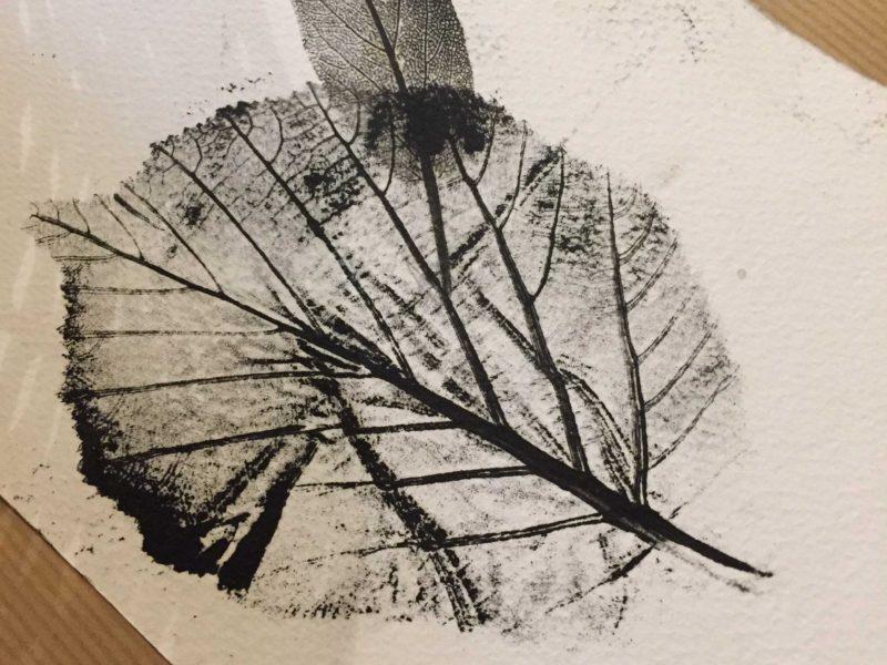 Atelier monotype d'automne