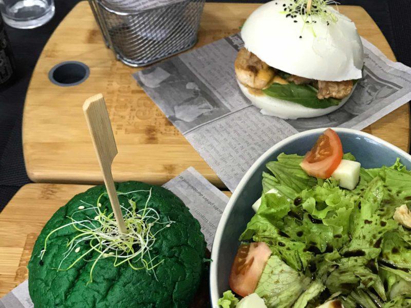 Un burger vert