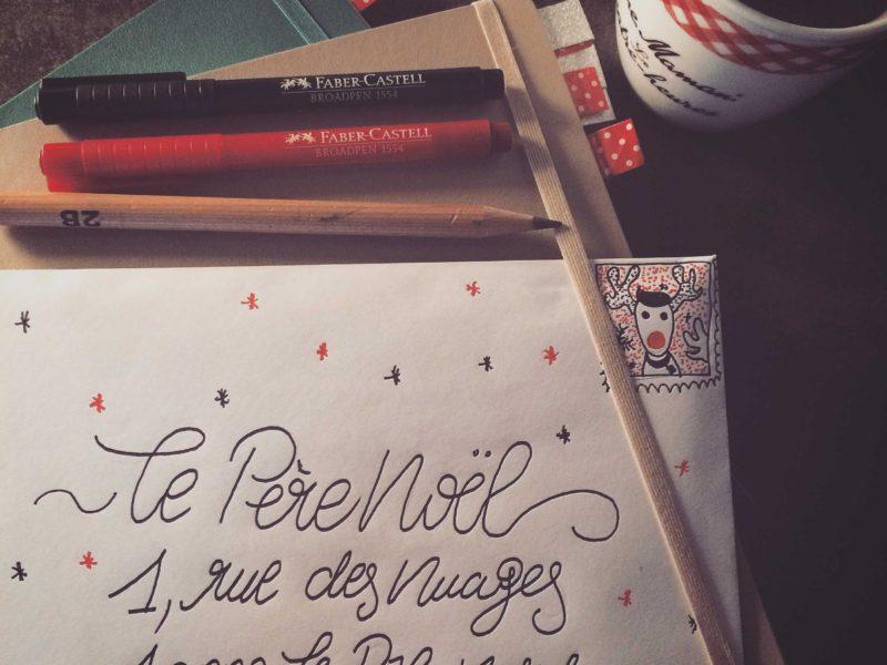 La lettre pour le père Noël