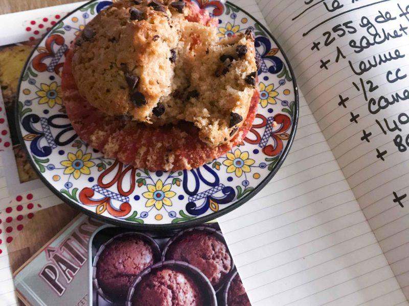 Mes muffins à la cannelle