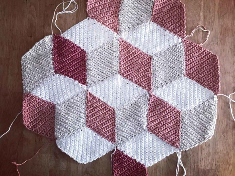 Vasarely au crochet