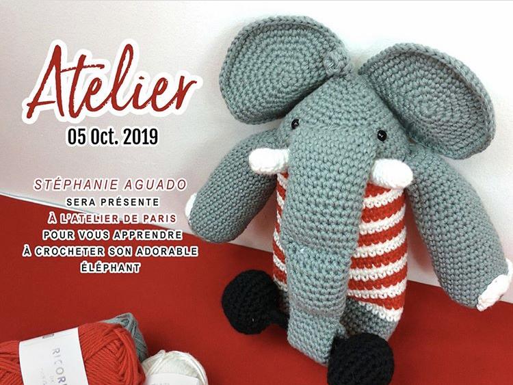 Atelier crochet le 5 octobre 2019