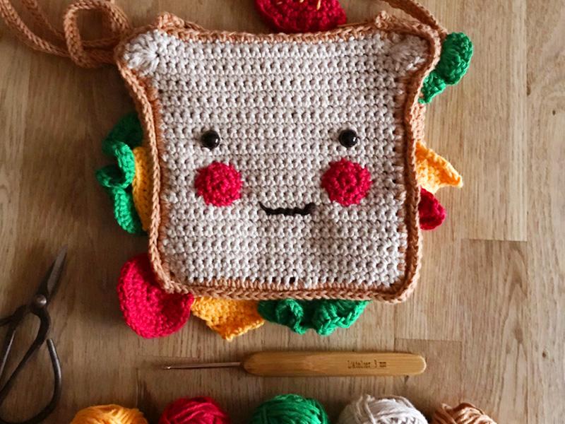Je crochète mon sandwich