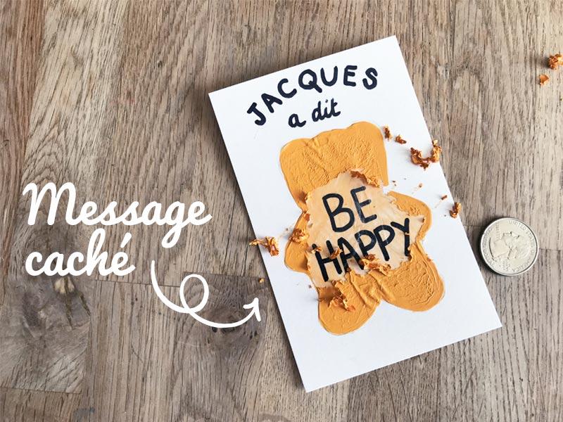Un message secret